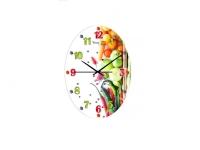 """Часы настенные кухонные """"Овощная смесь"""" Your Time"""