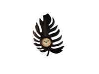 """Дизайнерские интерьерные часы """"Листик"""" Your Time"""
