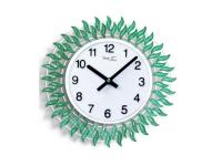 """Интерьерные настенные часы """"Зеленый Огонек"""" Your Time"""