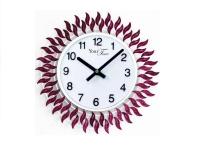 """Интерьерные настенные часы """"Фиолетовый Огонек"""" Your Time"""