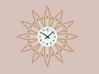 """Интерьерные настенные часы """"Желтая Ромашка"""" Your Time"""
