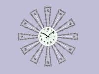 "Интерьерные настенные часы ""Белое Солнце"" Your Time"
