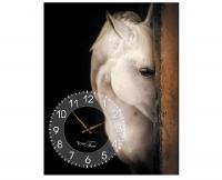 """Дизайнерские настенные часы """"Лошади"""""""
