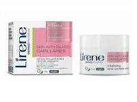 Легкий крем против морщин для лица сосудистой кожи, Lirene