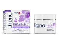 Нормализирующий матирующий крем для лица день/ночь, Здоровая кожа+,Lirene