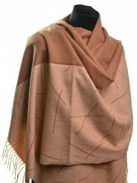 Зимний кашемировый шарф