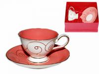 """Чайный набор """"Розовый коралл"""""""