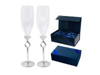 """Свадебный набор бокалов для шампанского """"Карат"""""""