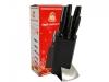 Набор ножей Маруся 5 предметов на стойке
