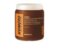 Маска для волос с маслом макассар и кератином, BRELIL