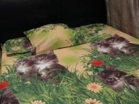 """Двуспальное постельное белье """"Кошки"""""""